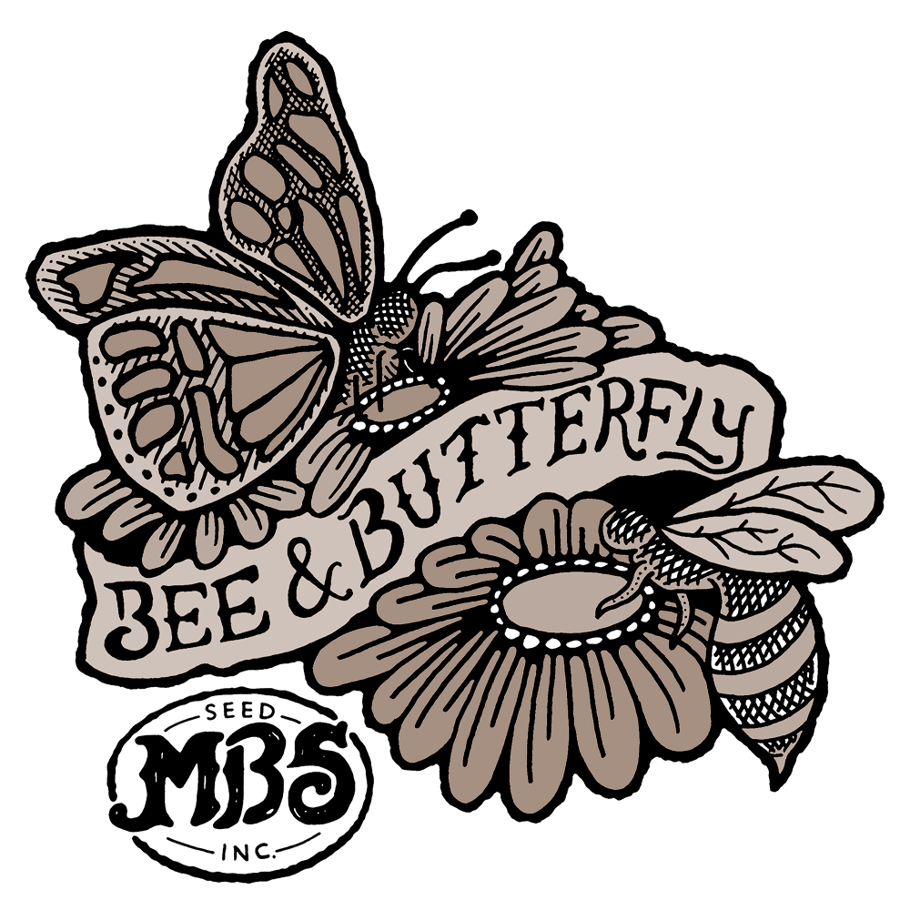 Bee & Butterfly Logo