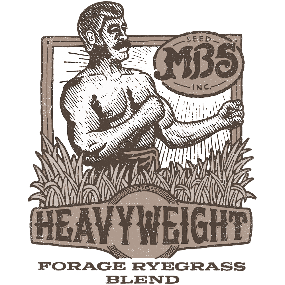 Heavyweight Forage Ryegrass Blend Logo