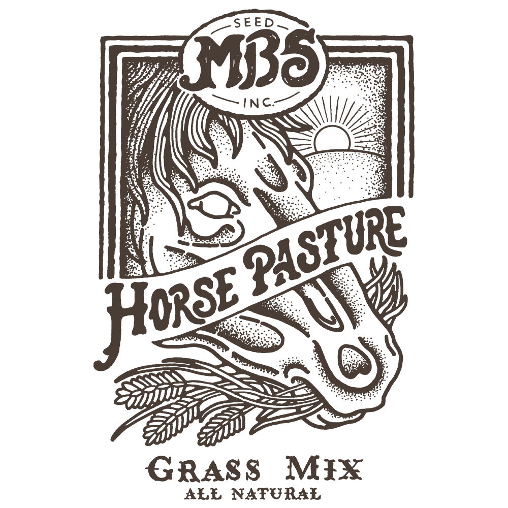 Horse Pasture Grass Mix Logo