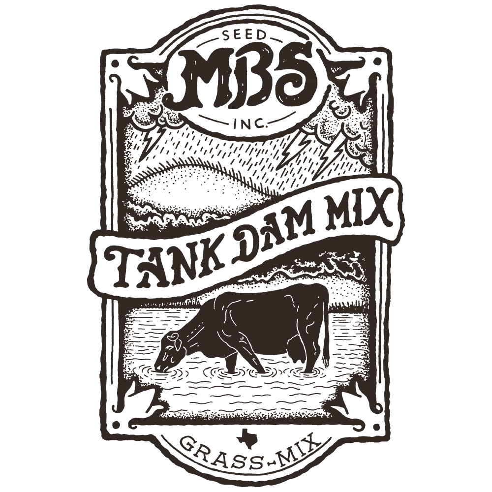 Tank Dam Mix Grass Mix Logo
